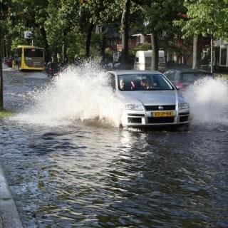 wateropstraat regenwaterberging
